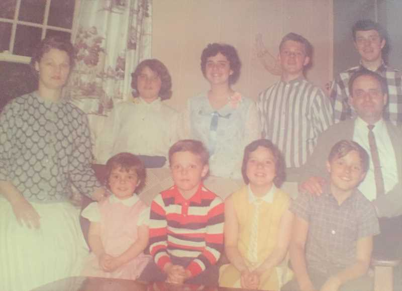 CONTRIBUTED PHOTO: CAMPANELLA FAMILY - Members of the Campanella family are pictured in 1964.