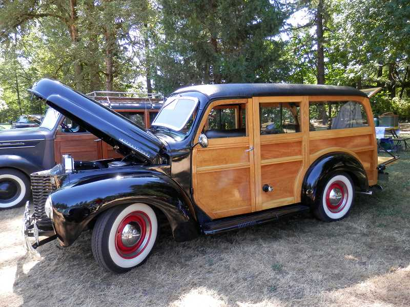 CONTRIBUTED PHOTO: NANCY HORTON - This vehicle was one of many entered into last year's Old Time Cruise to Estacada. This years event is scheduled for Saturday, Aug. 4.