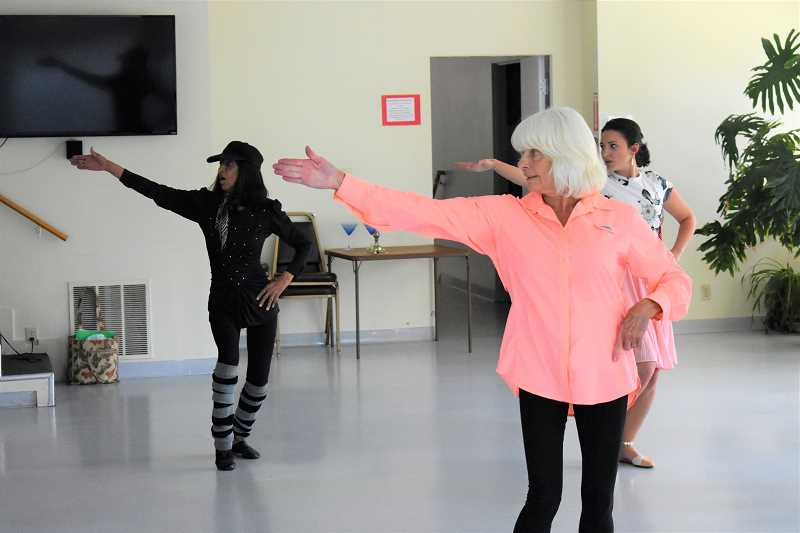 FILE PHOTO - Elaine Leatham's dance group, 'A Touch of Class Experience' will host a fundraiser for the Estacada Community Centers Meals on Wheels program at 6 p.m. Saturday, July 14. The evening will feature dinner and a dance presentation.