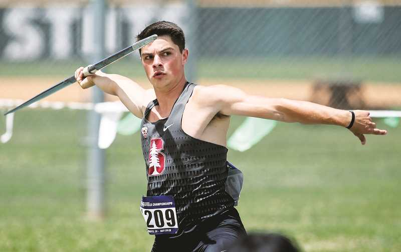 PHOTO COURTESY OF STANFORD UNIVERSITY - Trevor Danielson, who graduated from Newberg High School in 2013 but walked away from the sport due to an injury his freshman year at Stanford, will return to compete for the Cardinal next spring as a fifth-year senior.