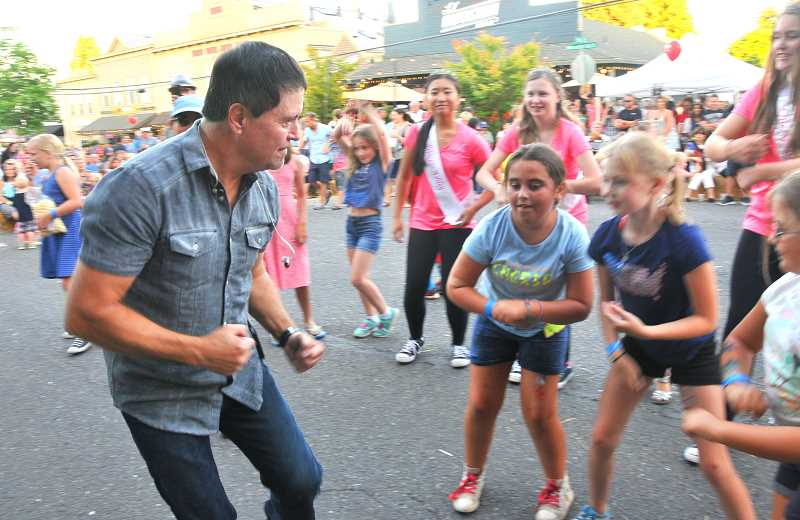 TIDINGS FILE PHOTO - Now in its 11th year, the West Linn Street Dance has become one of the city's favorite traditions.