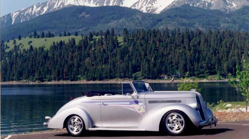 SUBMITTED PHOTO: FRED HALL - Fred Hall is excited to show off his 1936 Pontiac Cabriolet at the 2018 Concours dElegance.