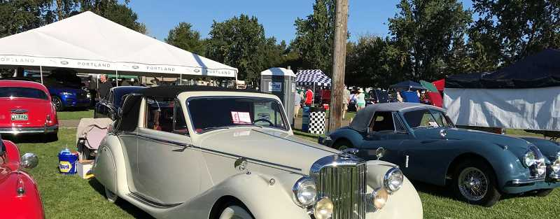 SUBMITTED PHOTO: WILLIAM RELYEA  - William Relyea will show his 1951 Jaguar Mark V DHC for the second straight year.