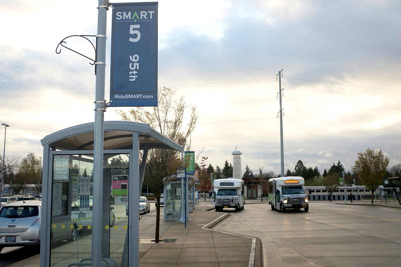 SPOKESMAN FILE PHOTO - SMART provides service to Wilsonville residents and those working in the city.