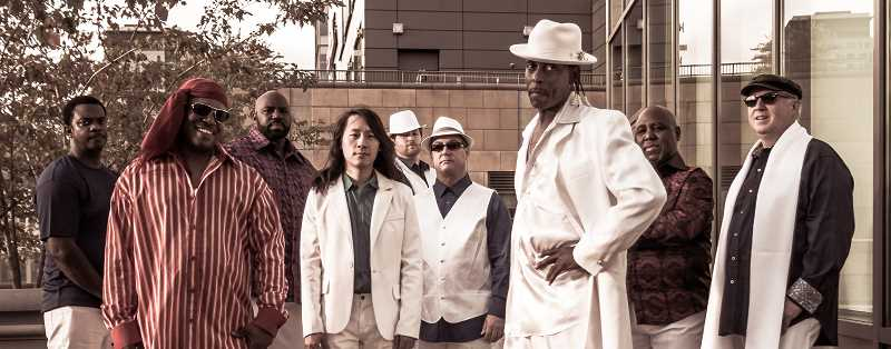 Kalimba The Spirit of Earth Wind and Fire will play July 18 at Foothills Park in Lake Oswego.