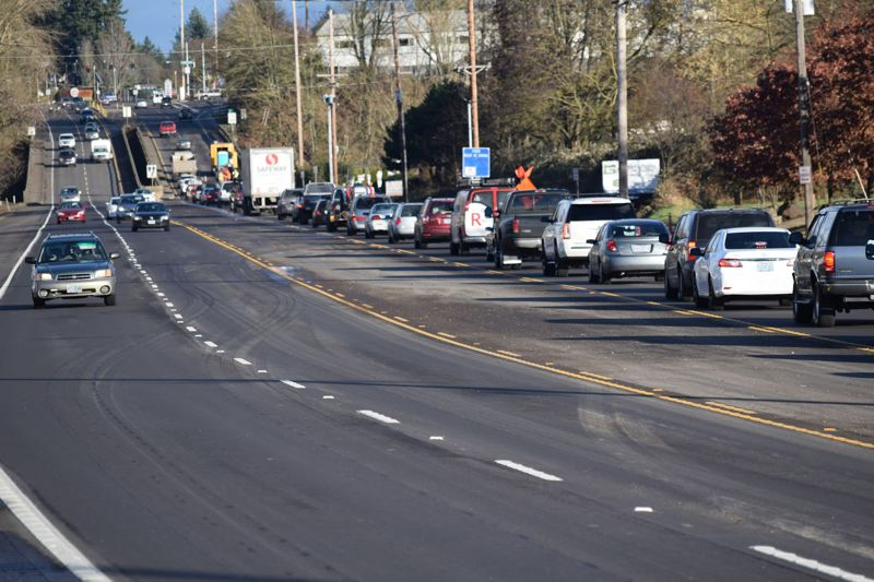 PAMPLIN MEDIA GROUP FILE PHOTO - Portlanders spend a lot of time stuck in traffic, according to a new survey of the nation's largest cities by WalletHub.
