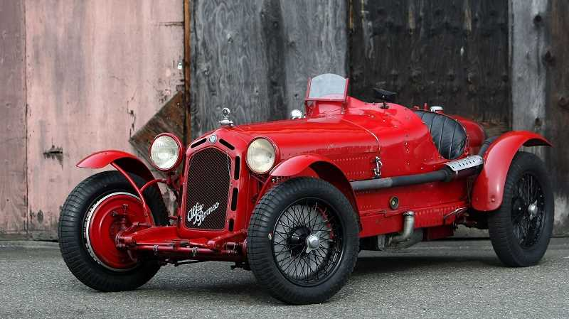 SUBMITTED PHOTO - One of the featured cars at Sunday's Concours d'Elegance in Forest Grove will be this 1931 Alfa Romeo 8C 2300 Monza, which was driven to victory in the 1933 Mille Miglia by celebrated driver Tazio Nuvloari.