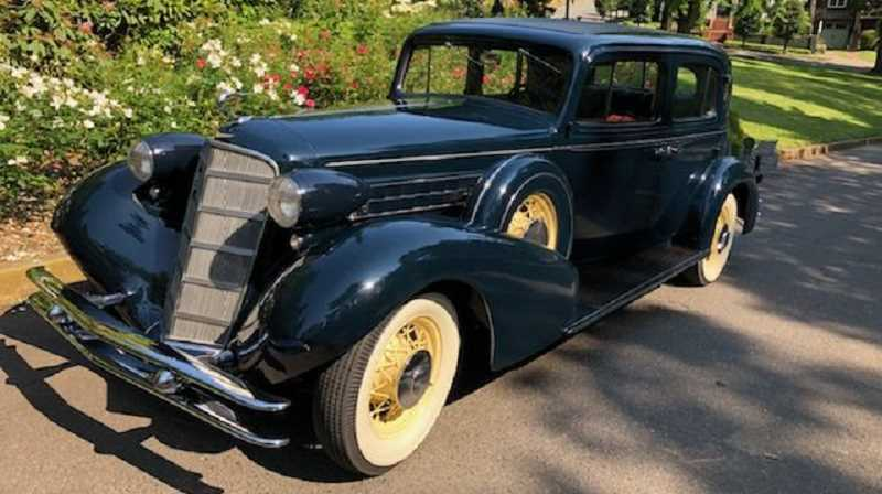 SUBMITTED PHOTO - This 1934 Cadillac 355D, owned by Lake Oswego resident Miles Eshaia, will be among the more than 300 classic and historic vehicles on display Sunday at the Concours d'Elegance in Forest Grove.