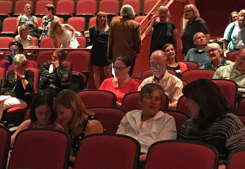 TIMES PHOTO: DANA HAYNES - An estimated 100 people came out to testify Wednesday before the Legislature's Joint Committee on Student Success.