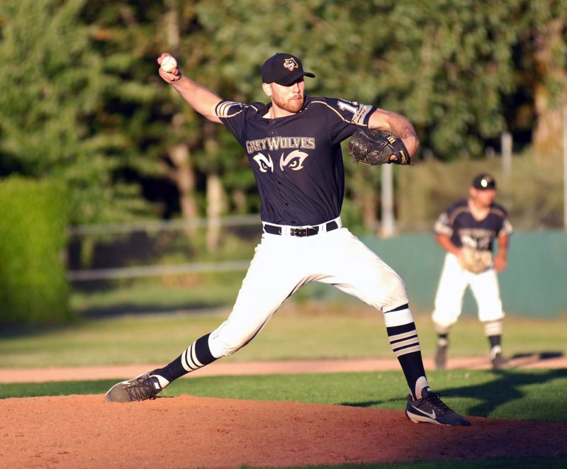 GRESHAM OUTLOOK: MATT RAWLINGS - Gresham pitcher Zach Johnson threw seven innings on Wednesday night, only giving up one run in the GreyWolves 8-5 victory over Showtime.