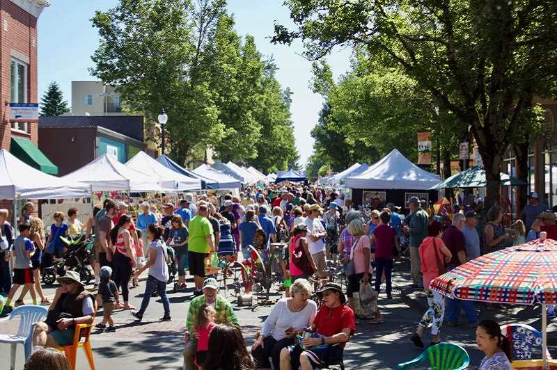 OUTLOOK FILE PHOTO - Thousands are expected to attend the Gresham Arts Festival, which runs Friday and Saturday, July 20-21.