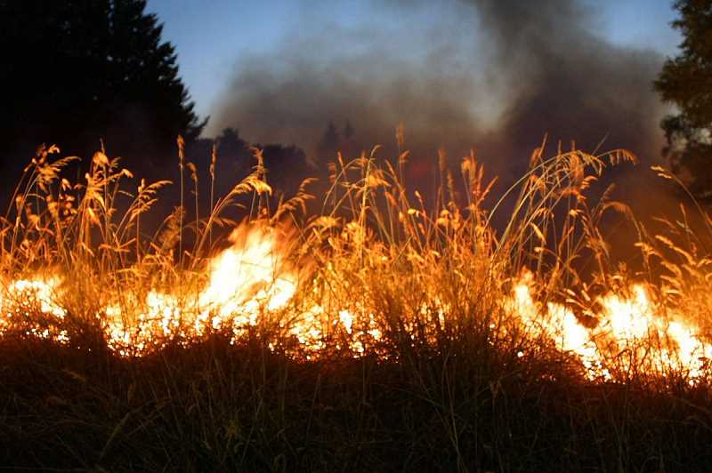 OUTLOOK FILE PHOTO - Multnomah County issued a burn ban due to the increased risk caused by high temperatures.
