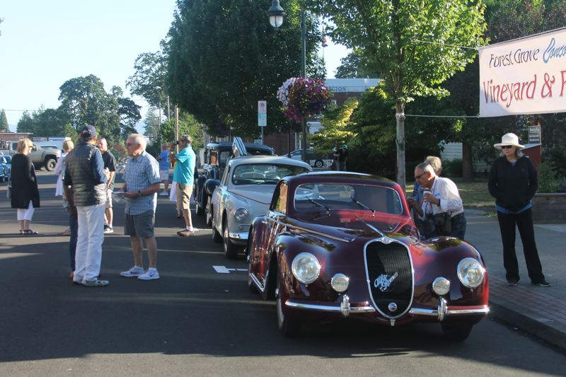 PAMPLIN MEDIA PHOTO: JOHN SCHRAG - Now in its 46th year, the 2018 Forest Grove Concours d'Elegance will feature more than 300 classic, sport and custom cars, drawing thousands of visitors to the campus of Pacific University, just west of Portland.