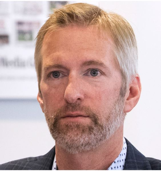 PORTLAND TRIBUNE: JAIME VALDEZ - Mayor Ted Wheeler talked about the need to reduce the backlog of building permits when he spoke to Portland Tribune editors and reporters.