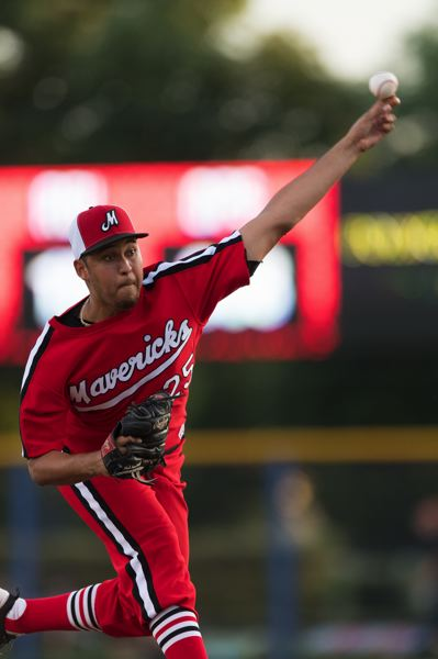 STAFF PHOTO: CHRISTOPHER OERTELL - Hillsboro Hops left-hander Kenny Hernandez gave up nine hits and three earned runs in five relief innings Monday, July 16.