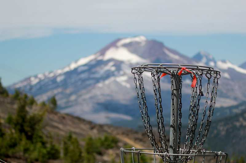 STEELE HAUGEN - Disc golf course down Mount Bachelor