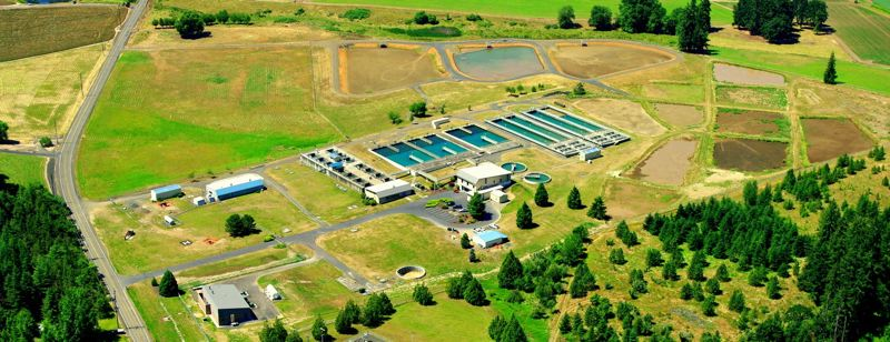 COURTESY PHOTO: JOINT WATER COMMISSION - The Joint Water Commission operates Oregon's largest water treatment facility just south of Forest Grove. Regular testing for cyanobacteria is required at the facility under new state rules.