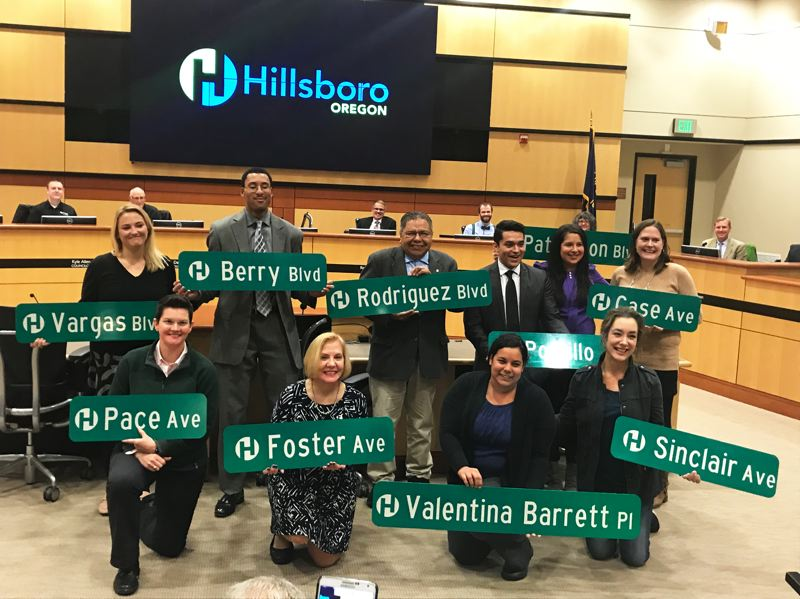 COURTESY PHOTO: CITY OF HILLSBORO - Six of last year's academy participants have gone on to assume positions on various city committees.