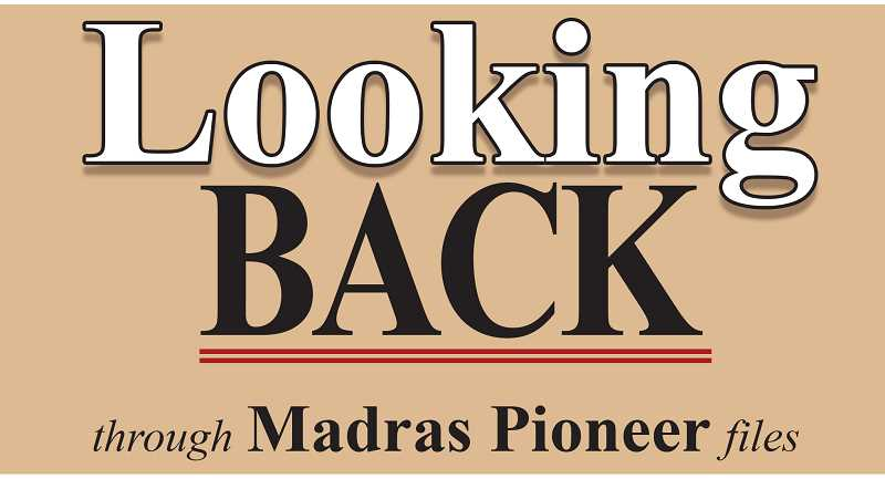 MADRAS PIONEER LOGO - The Madras Pioneer looks back through the archives covering the past 100 years.