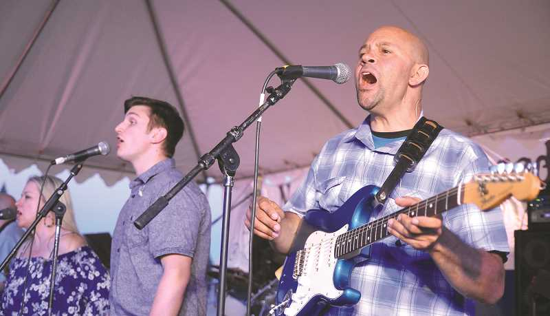 GRAPHIC FILE PHOTO - Musical acts on three different stages set the tone for the festival.