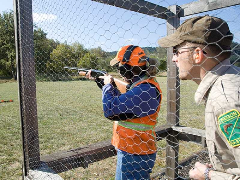 COURTESY PHOTO - The ODFW will be offering shotgun skills courses this summer.