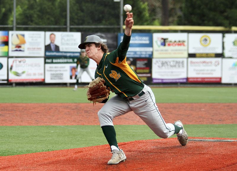 TIDINGS FILE PHOTO - West Linn senior Joey Campbell won a berth on the Class 6A all-state honorable mention team after helping lead the Lions to a Three Rivers League title and into the state quarterfinals.