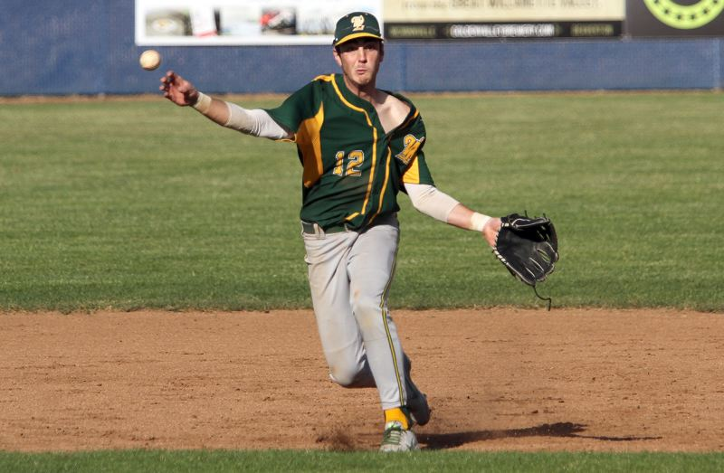 TIDINGS FILE PHOTO - West Linn junior shortstop Jonathan Kelly played his way onto the Class 6A all-sttae second team following the 2018 spring season.