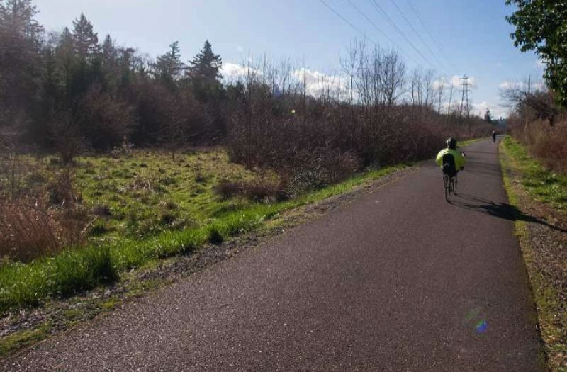 PMG FILE PHOTO - This photo shows a portion of the Springwater Corridor Trail.