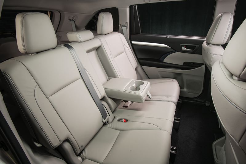 TOYOTA MOTOR CORPORATION - Third row passengers in the 2018 Toyota Highlander will be surprised by the room and amenities.