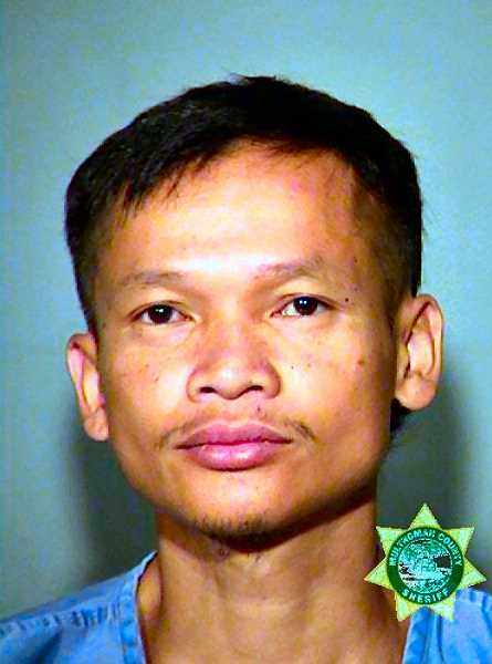 MCDC BOOKING PHOTO - 36-year-old Kipong Somsanuk.  Somsanuk is now in the Multnomah County Jail on multiple charges.