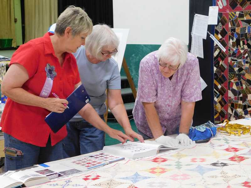 FILE PHOTO - The Garfield Skip-a-Week Quilt club will host their annual show from 10 a.m. to 4 p.m. Friday, July 27, and Saturday, July 28, at Estacada First Baptist Church, 29101 S.E. Eagle Creek Road.