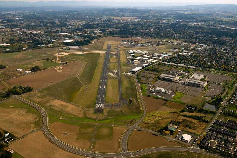 FILE PHOTO - The Hillsboro Airport will recieve the largest portion of $14.3 million in federal funding that will go toward five Oregon airports.