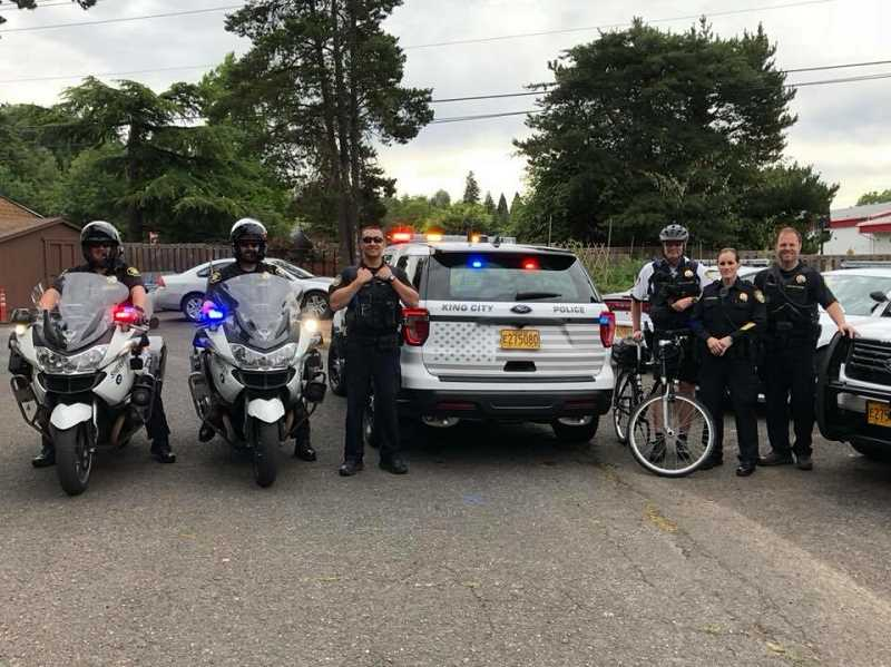 The King City Community Foundation will hold appreciation and fundraising events for the King City Police Department throughout the month of August.