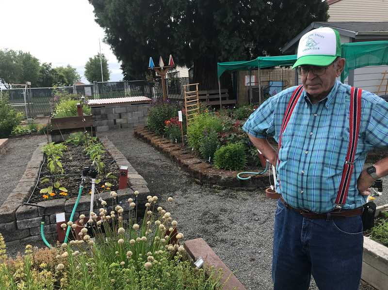 STAFF PHOTO: GEOFF PURSINGER - Since 2009, the demonstration garden has donated nearly 10,000 pounds of food to the Washington County Food Bank.