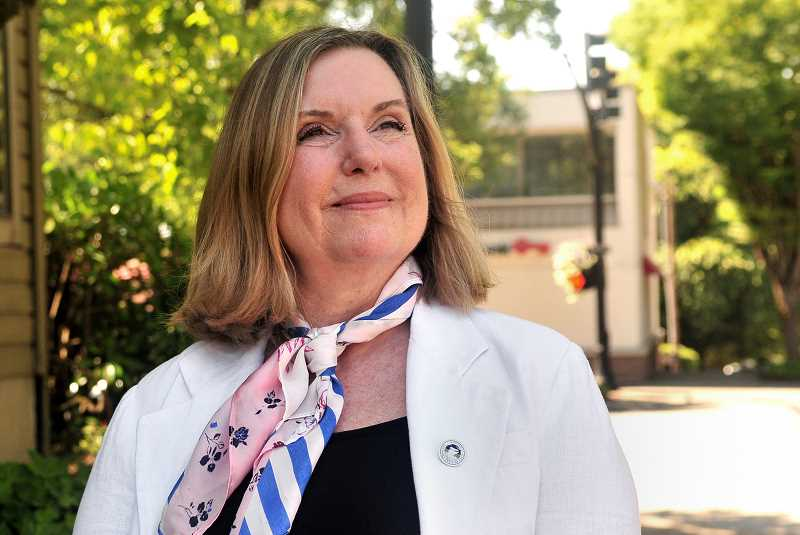 5. REVIEW PHOTO: VERN UYETAKE - Jackie Manz is seeking a second term on the City Council.