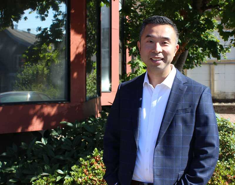 REVIEW PHOTO: ANTHONY MACUK - Local restaurateur Daniel Nguyen has joined the race for a seat on the City Council.
