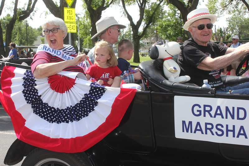 SUSAN MATHENY - Margee O'Brien is the grand marshal for the Jefferson County Fair, which opened Wednesday, July 25, and runs through Saturday, July 28.