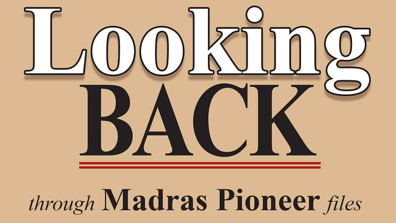 MADRAS PIONEER LOGO - The Madras Pioneer looks back over the newspaper's 114 years of archives.