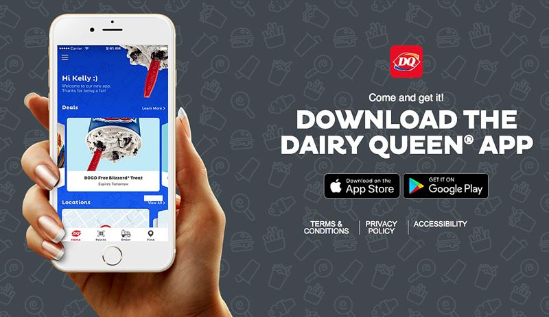 COURTESY PHOTO - Dairy Queen's website may have enticed people to download its app with a 'free' treat, that wasn't free at every DQ in Oregon, according to a federal lawsuit.