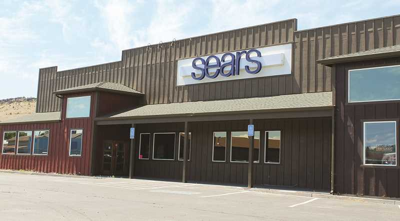 CENTRAL OREGONIAN - The Prineville Sears store was closed shortly after moving to a new location.