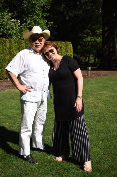 OUTLOOK PHOTO: MATT DEBOW  - Junki and Linda Yoshida will open up their private residence for the eighth-annual Soulful Giving Blanket Concert on Saturday, Aug. 4.