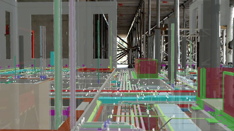 COURTESY: FORTIS CONSTRUCTION INC. - Fortis Constructions use of virtual reality allows it to provide project owners with tours of their projects via a headset.