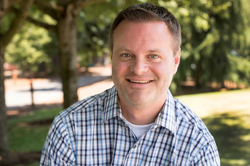 TIMES PHOTO: JAIME VALDEZ - Ross Hoover, the newest director of the Tualatin Parks and Recreation Department, wants to get as much public input and comments as possible as he coordinates the Tualatin Parks and Recreation Master Plan .