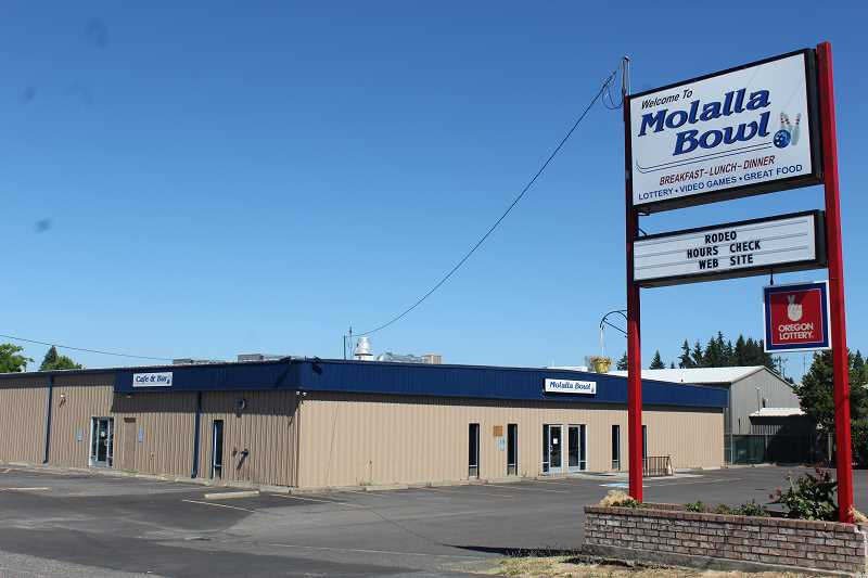 PIONEER PHOTO: KRISTEN WOHLERS - Molalla Bowl recently closed its doors for business.