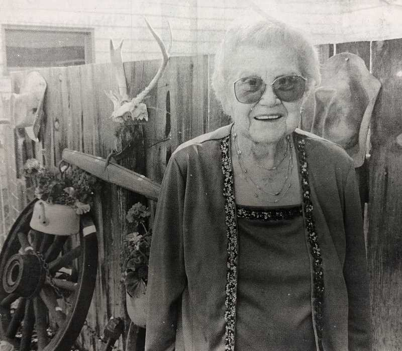 CENTRAL OREGONIAN FILE PHOTO  - July 29, 1993: Maxine Brummer is the 1993 Crook County Pioneer Queen. She will be crowned at the annual Pioneer Picnic this Sunday, Aug. 1 at Pioneer Park.