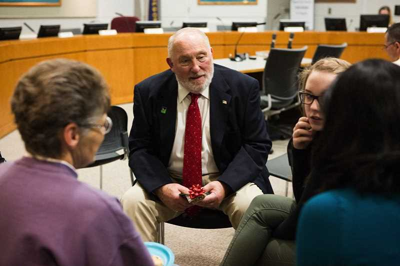 TIMES FILE PHOTO: ADAM WICKHAM - Former City Councilor Marland Henderson becomes fourth and last candidate to throw his hat in the ring to become Tigard's next mayor. The race is set for Nov. 6.
