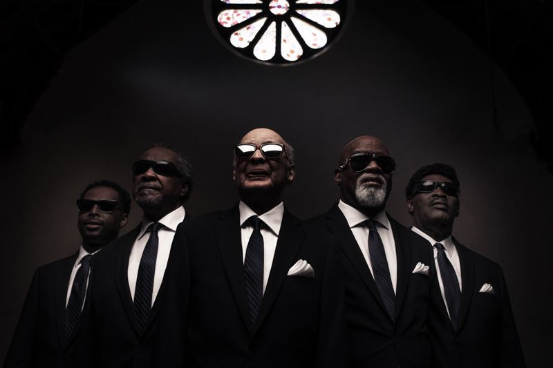 COURTESY: BLIND BOYS OF ALABAMA - The Blind Boys of Alabama, fronted by four blind singers, have toured in some form for seven decades. They will deliver their rich, authentic brand of uplifting gospel soul at Pickathon this weekend.