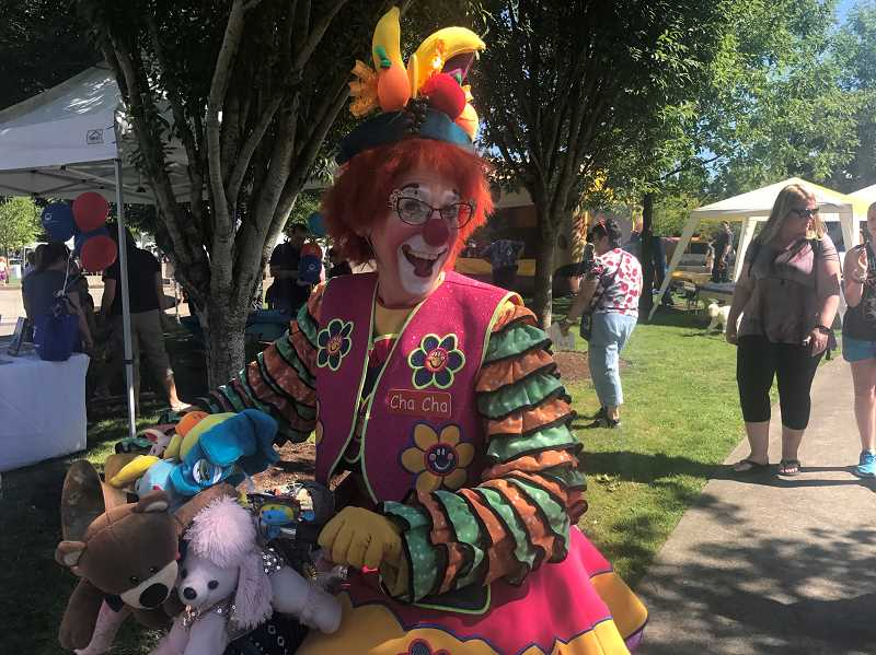 SPOKESMAN FILE PHOTO - Clowns and many other performers will entertain attendees of the Fun in the Park event.