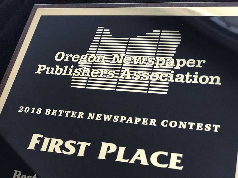 SPOKESMAN FILE PHOTO - The 2018 ONPA Better Newspaper awards honor the best journalism in Oregon.