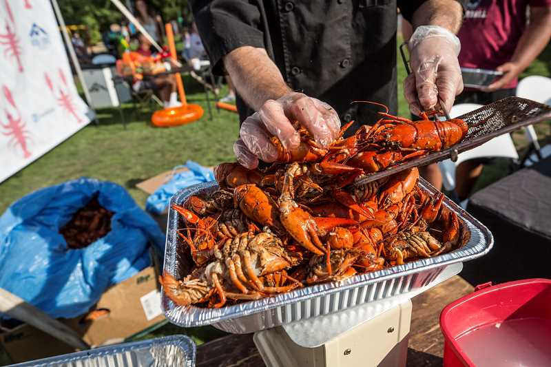 TIMES FILE PHOTO - The annual Tualatin Crawfish Festival kicks off Friday evening and runs through Sunday at Tualatin Community Park.